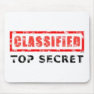 Classified Top Secret Mouse Pad