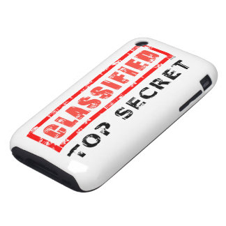 Classified Top Secret Tough iPhone 3 Cover