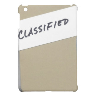 Classified Your Eyes Only File iPad Case