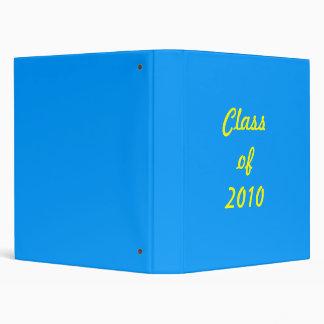 Classof 2010 3 ring binder