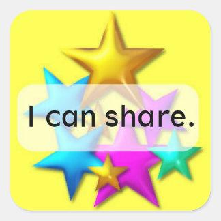Classroom Behaviour Management  square sticker