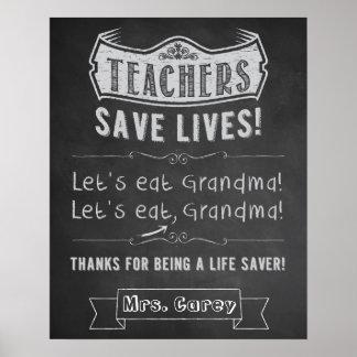 Classroom Decor. Gift for Teacher. Classroom Sign. Poster