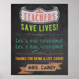 Classroom Decor - Teacher Appreciation Posters