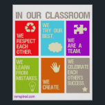 """Classroom Norms Poster<br><div class=""""desc"""">In Our Classroom</div>"""