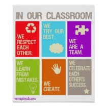 Classroom Norms Poster