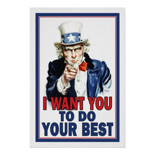 Image result for uncle sam i want you to do your homework