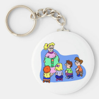 Classroom Storytime Keychain