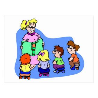 Classroom Storytime Postcard