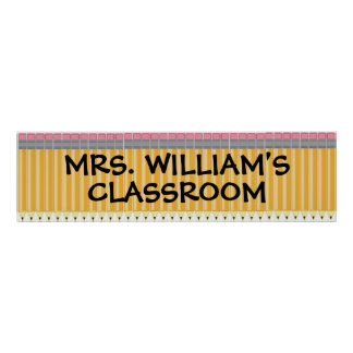 Classroom Welcome Banner Poster