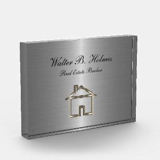 Classy Acrylic Real Estate Paperweight Acrylic Award