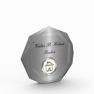 Classy Acrylic RealEstate Paperweight Award