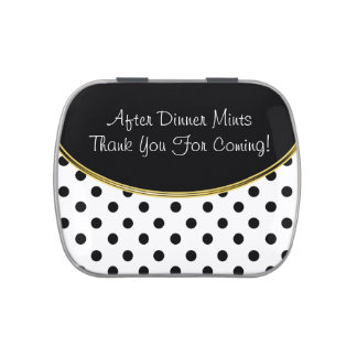 Classy After Dinner Mints Candy Tins