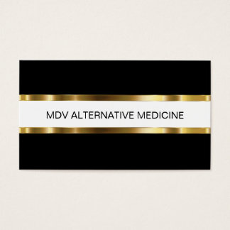 Classy Alternative Medical Business Cards