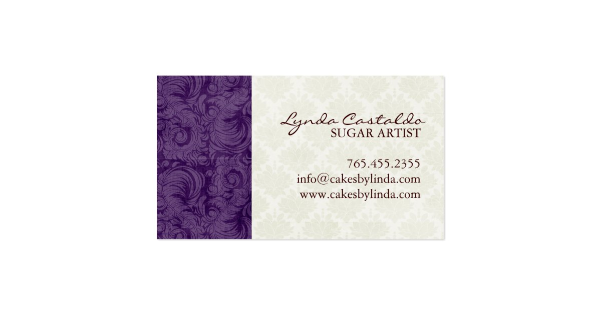 Classy and Elegant Bakery Business Cards : Zazzle