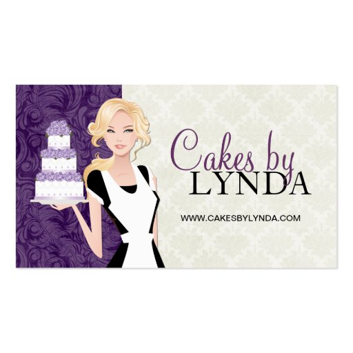 Classy and Elegant Bakery Business Cards