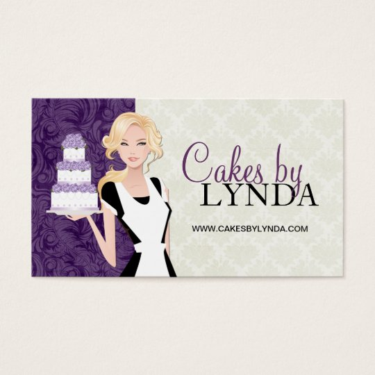 Classy and elegant bakery business cards zazzle classy and elegant bakery business cards reheart Images
