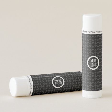 Classy and elegant black textured lip balm
