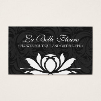 Classy and Elegant Floral Business Cards