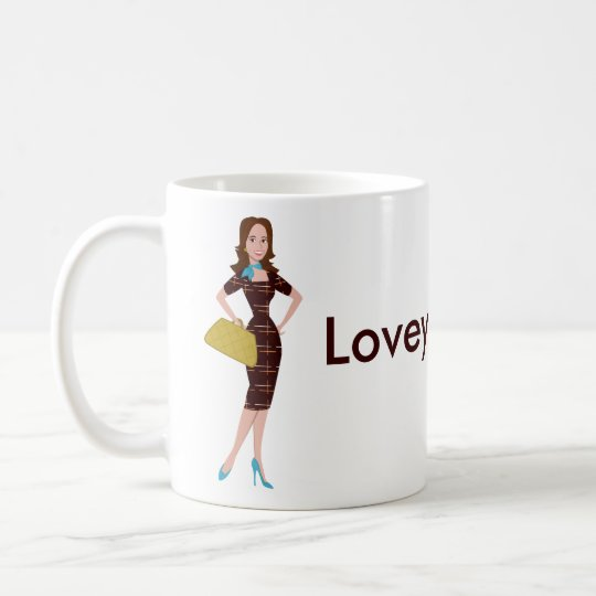 Classy and Snazzy Business Woman Coffee Mug