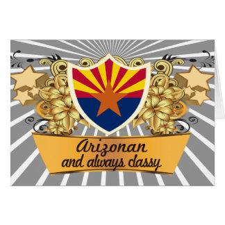 Classy Arizonan Greeting Cards