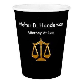 Classy Attorney Office Coffee Cups