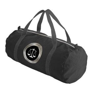 Classy Attorney Theme Gym Duffle Bag