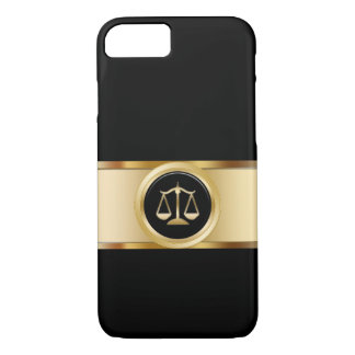 Classy Attorney Theme iPhone 7 Case