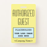 """[ Thumbnail: Classy """"Authorized Guest"""" Badge ]"""
