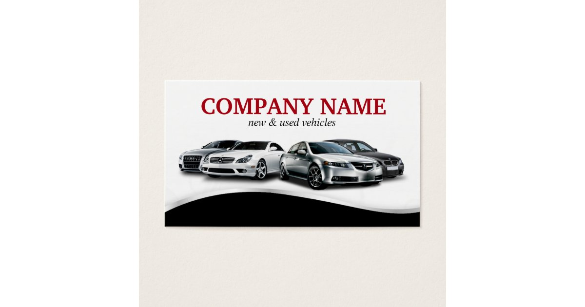 Business Cards For Auto Dealers Gallery - Card Design And Card Template