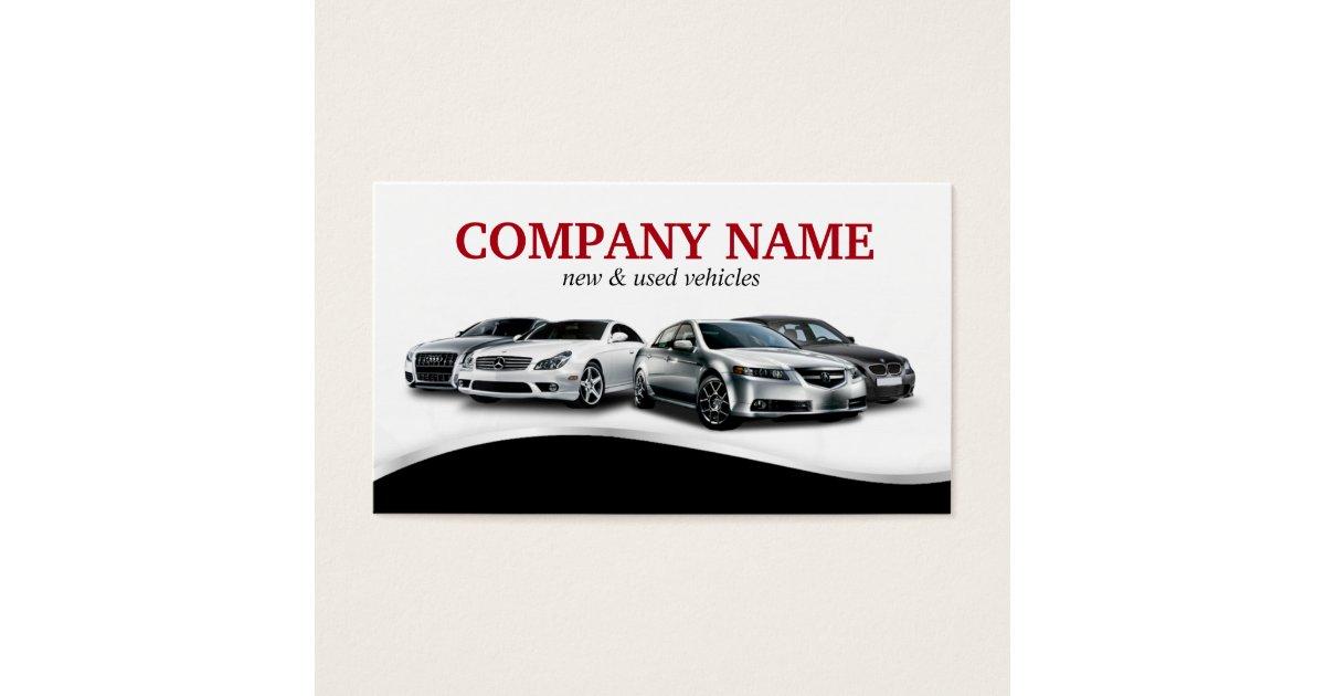 Auto Dealership Business Cards & Templates | Zazzle