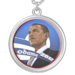 Classy Barack Obama Necklace Obama 2012