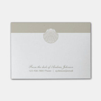 Classy Beach Theme Post-it® Notes