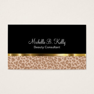 Classy Beauty Business Card
