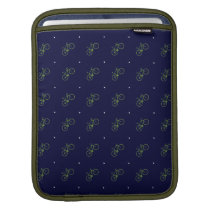 classy bicycle pattern sleeve for iPads