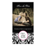Classy Black and White Save the Date Photocard Photo Cards