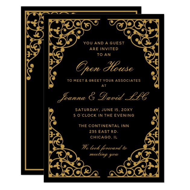 MGDezigns  Corporate Party Invitation Template