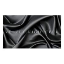 Classy, black, sleek, silk design Double-Sided standard business cards (Pack of 100)