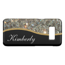 Classy Bling Monogram Style Case-Mate Samsung Galaxy S8 Case