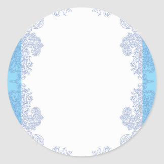 Baby Shower Template Stickers Zazzle Great Round Sticker - Stickers zazzle