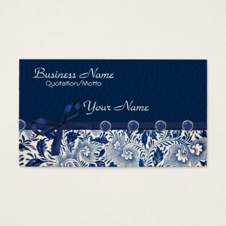 Classy Blues Business Card