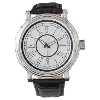 Classy Bold Roman Numerals Watch