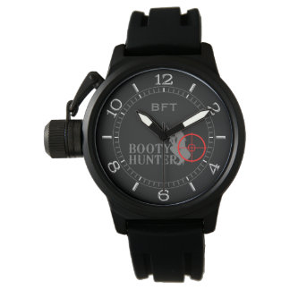 Classy Booty Hunter Personalized Monogram Watches