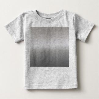Classy Brushed Aluminum Baby T-Shirt