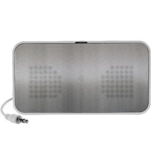 Classy Brushed Aluminum Speaker