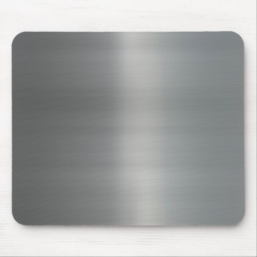 Classy Brushed Metal Textured Mouse Pad