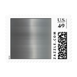 Classy Brushed Metal Textured Stamp