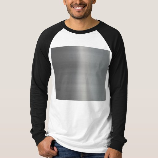 Classy Brushed Metal Textured T-Shirt