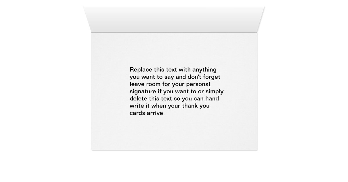 Fine Thank You Card Business Contemporary - Business Card Ideas ...