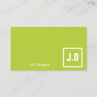 Classy businesscards profilecard