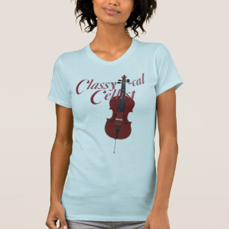 Classy-cal Cellist T-shirt